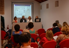 UWE president visits Marbella University women