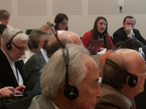 Representatives Ukraine at INGO COE