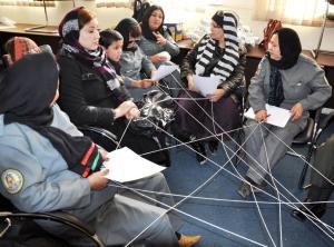 afghan police women - kopie