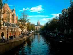 amsterdam architecture bridge buildings